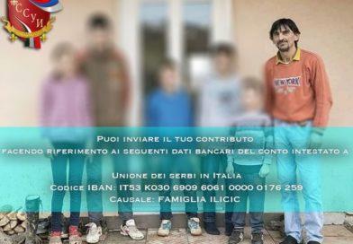 Aiuto per la famiglia Iličić