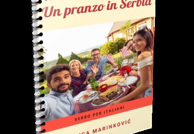 """Guida linguistico-culturale """"Un pranzo in Serbia"""" di Milica Marinkovic"""