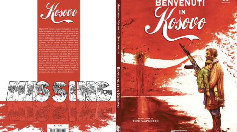 """BENVENUTI IN KOSOVO – Најава издања стрипа """"Добро дошли на Косово"""" на италијанском језику"""